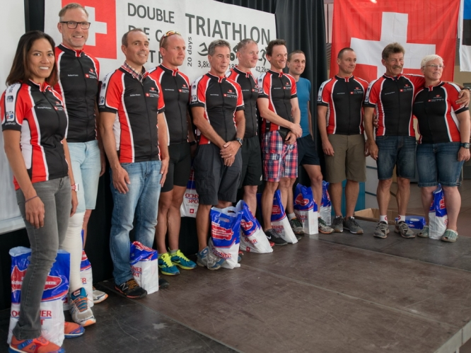 Deca-Ultra-Triathlon 10x1 in Buchs/Schweiz, 2016