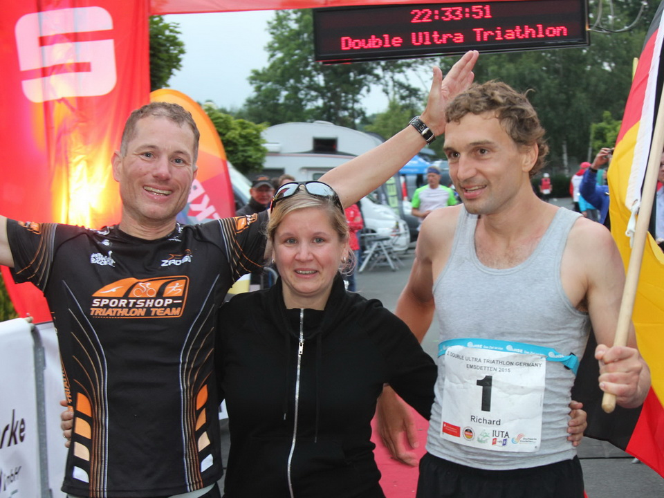 Double-Ultra-Triathlon Emsdetten 2015